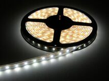 LED-Лента белая 12V  4,8Вт/м 60LED/m IP20 SMD3528 LS603 FERON (цена за метр)