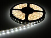 LED-Лента 12V  4,8Вт/м белая 60LED/m IP20 SMD3528 LS603 FERON (цена за метр)